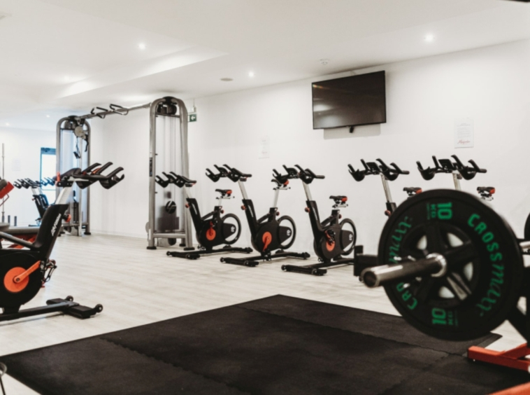 Gym at the Wesley's Luxury Real Estate Apartment, Victoria Island, Nigeria.